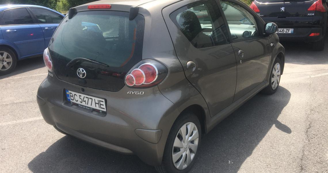 Фото авто Toyota Aygo в кредит, 2013г. 5200 грн./мес, Львов