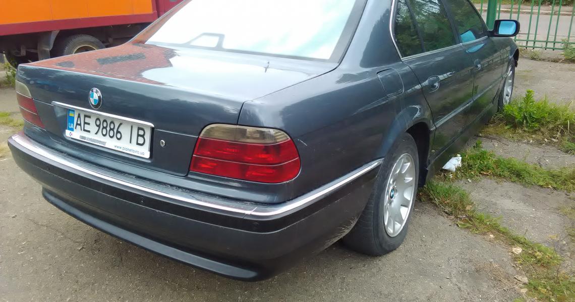 BMW 730, 2000