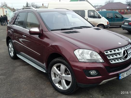 MERCEDES-BENZ ML, 2008